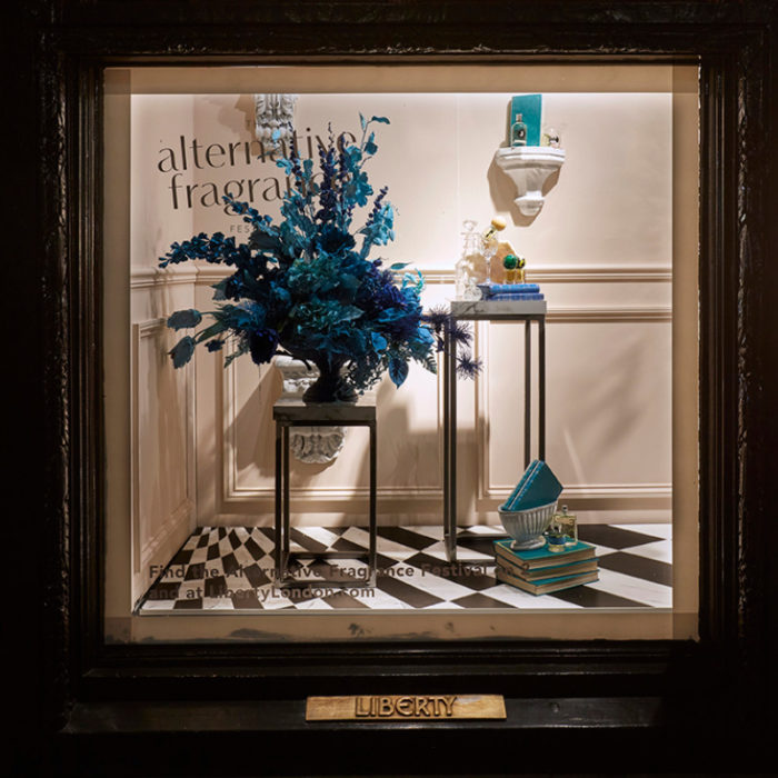 Alternative Fragrances Window at Liberty